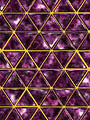 Reflexions : Louvre : Amethyst Gold