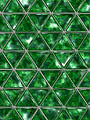 Reflexions : Louvre : Green Silver