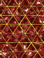 Reflexions : Louvre : Red Gold